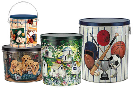 Decorative Tins in 4 Sizes
